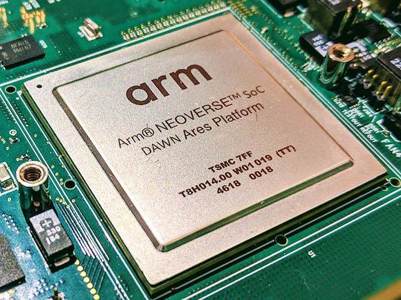 Arm Neoverse N1 SoC