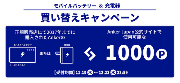Anker Replacement campaign