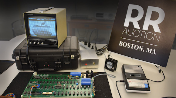 Apple 1 in RR Auction
