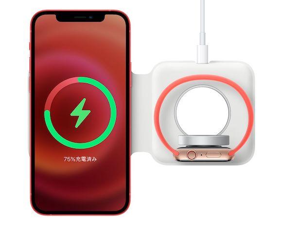 Apple MagSafeデュアル充電パッド