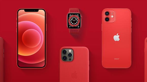 Apple (RED) 世界エイズデー