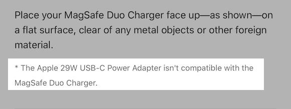 Apple Support MagSafeデュアル充電パッド