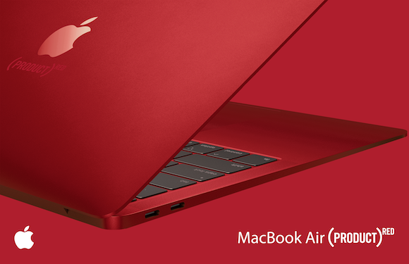 MacBook Air RED