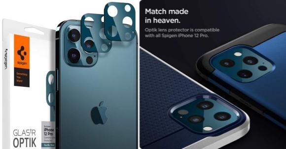 Spigen フルカバーカメラレンズ iPhone12 Pro