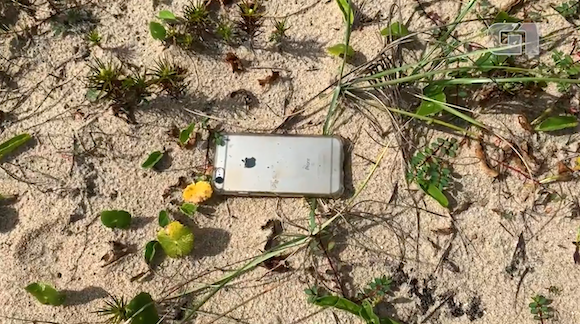 iPhone6 drop from plane_1