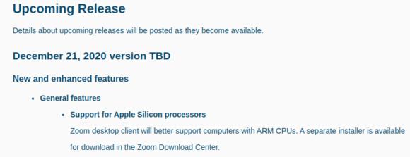 Zoom アプリ mac