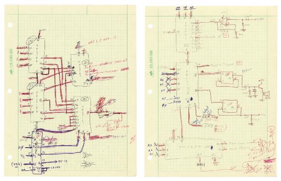 スティーブ・ウォズニアック apple II 回路図