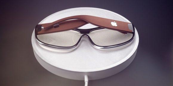 Apple Glassを模したメガネの画像