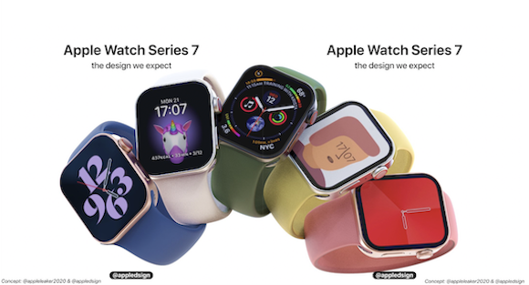 Apple Watch Series 7 concept