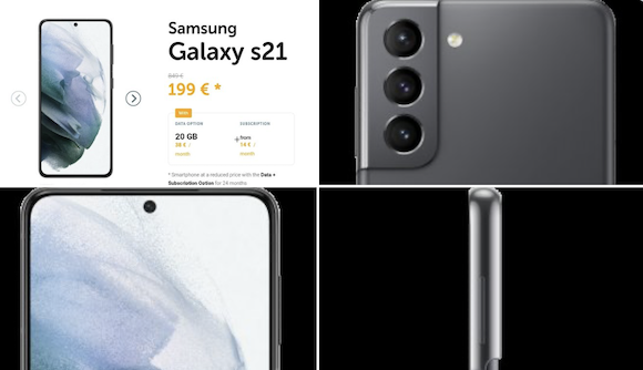 Galaxy S21 Voo price