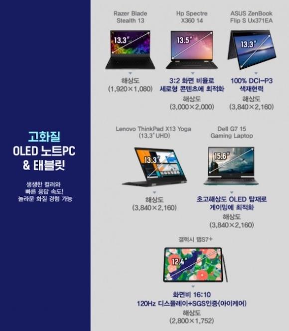 Samsung laptop oled