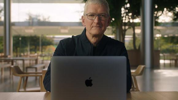 Apple ティム・クックCEO 2020年11月イベント