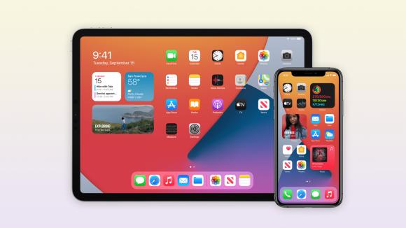 iOS14とiPadOS14の画像