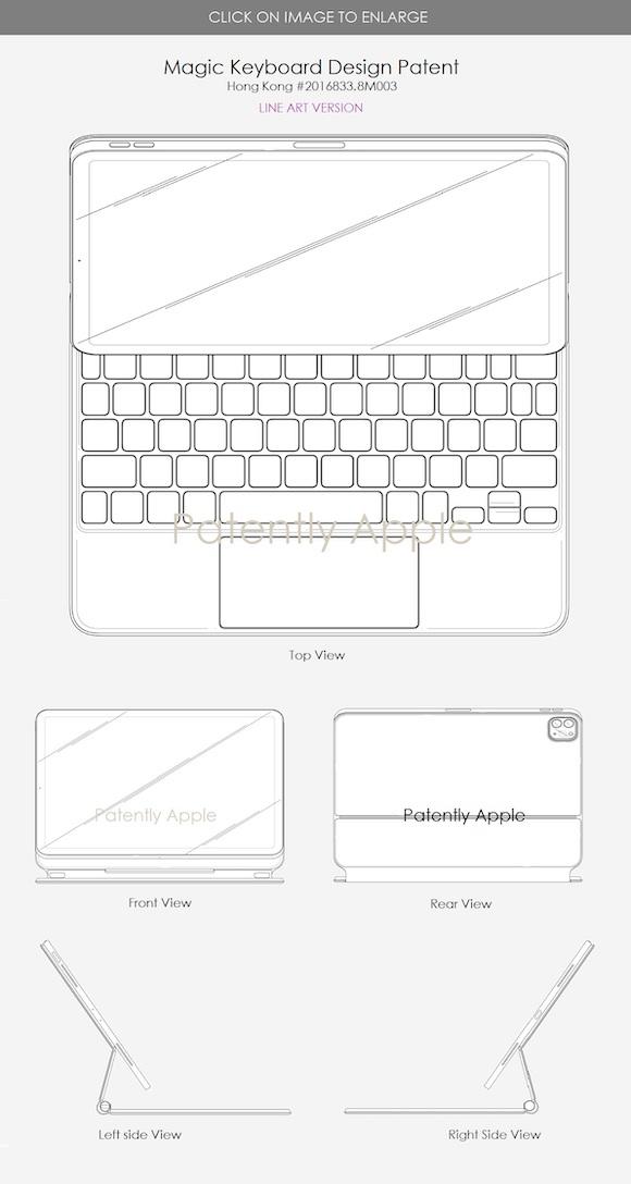 iPad Pro design patent