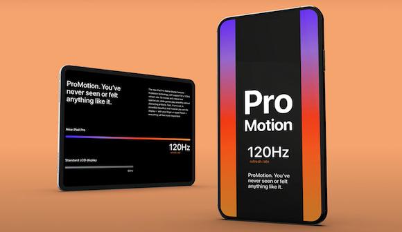 iPhone ProMotion 120Hz