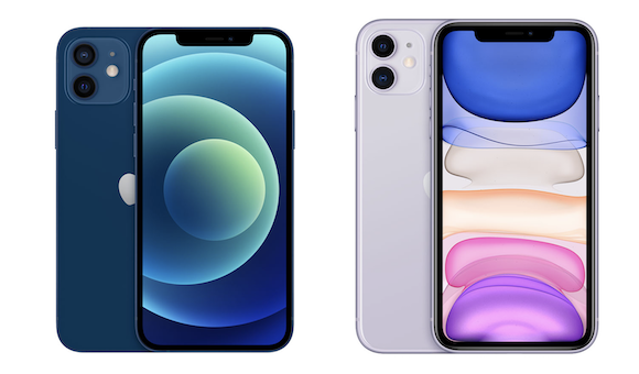Apple iPhone12 iPhone11 比較