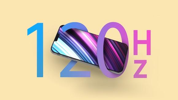 iPhone13 120Hz
